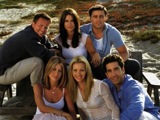 TV: Cast of the TV show 'Friends'