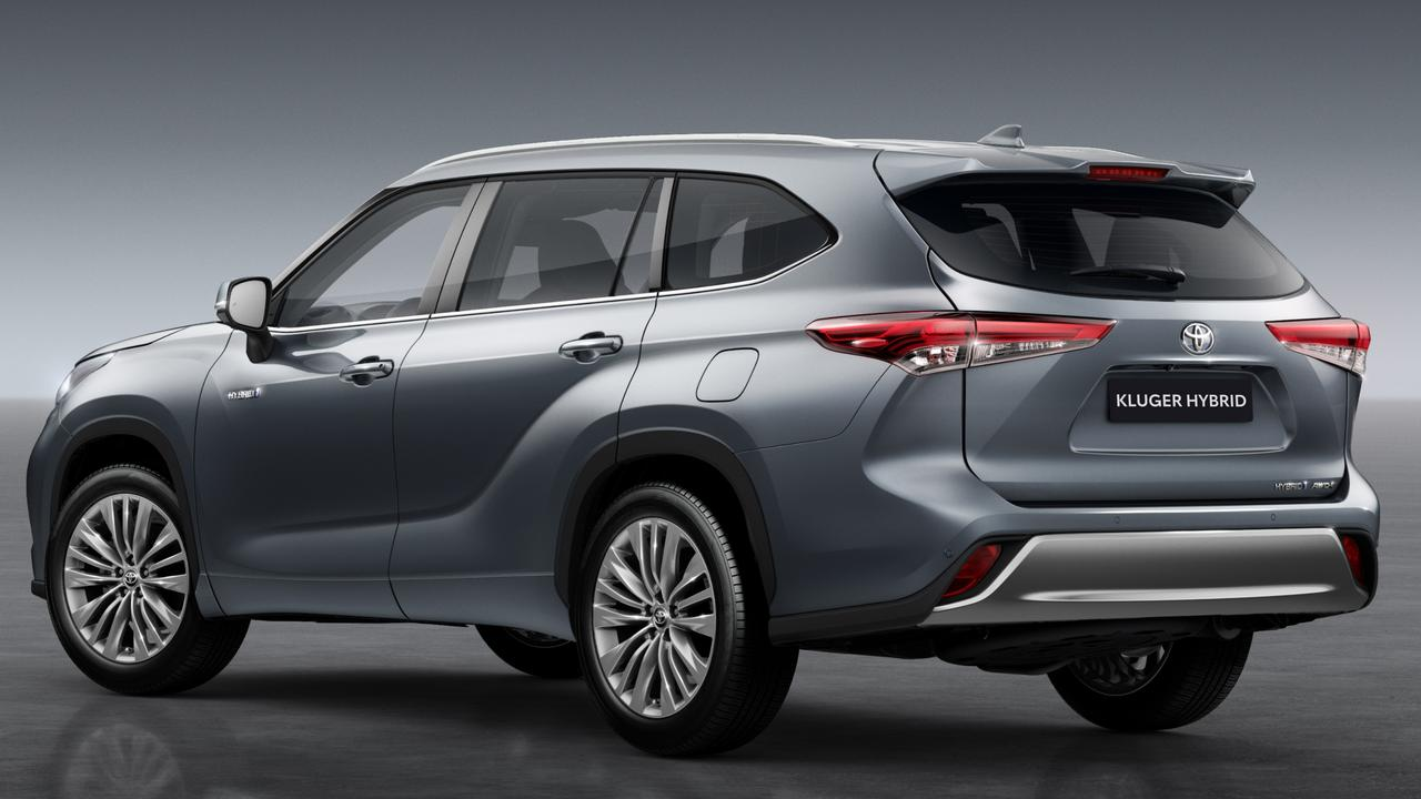 The Kluger hybrid will be joined by a petrol-only version.