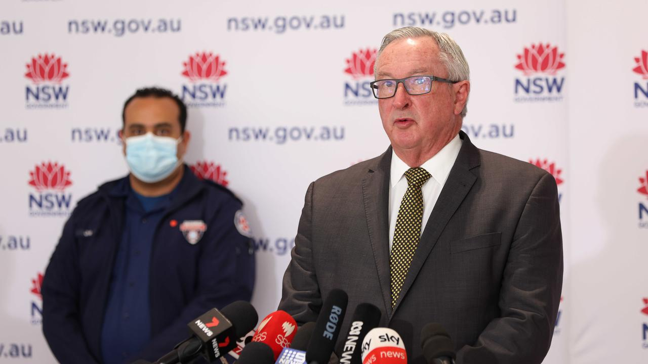 """The NSW Health Minister has slammed """"selfish or self-entitled"""" people who pass on their chance to get vaccinated against the coronavirus. Picture: NCA NewsWire / Damian Shaw"""