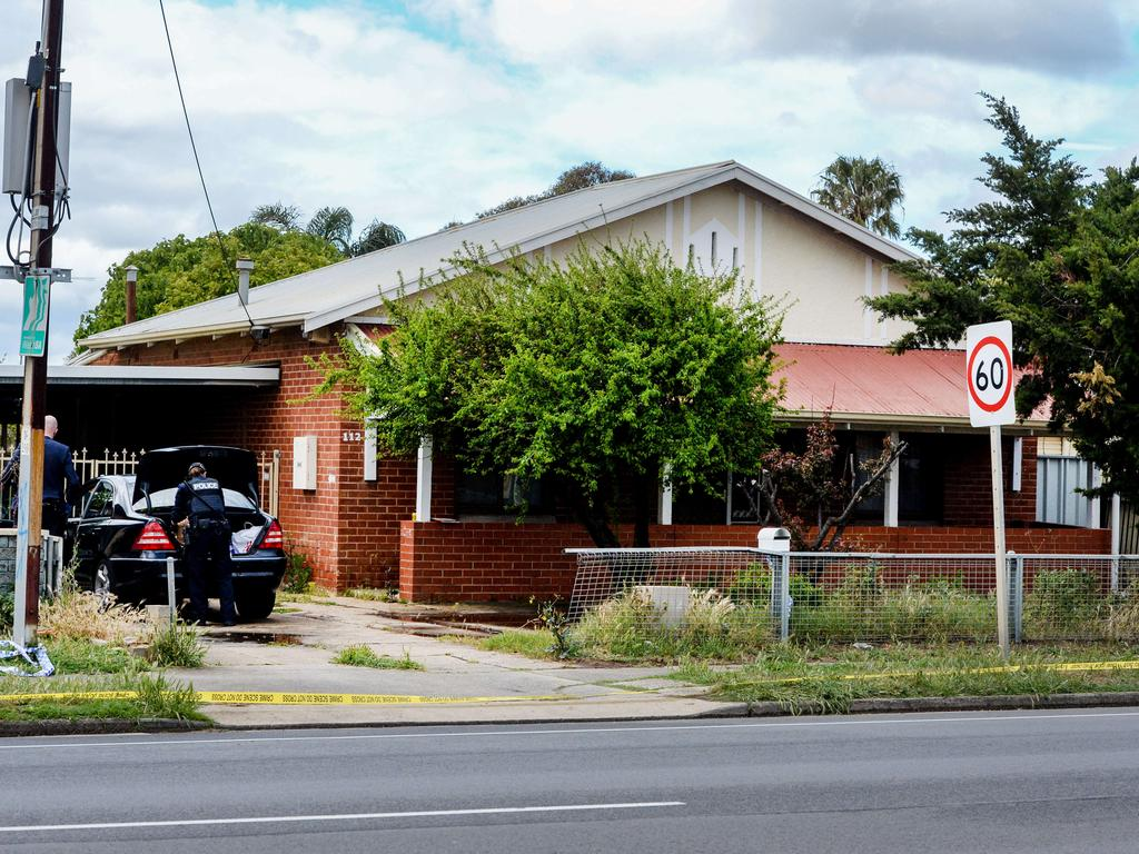 One woman told reporters she believed the victim's son found her and called for help. Picture: Brenton Edwards