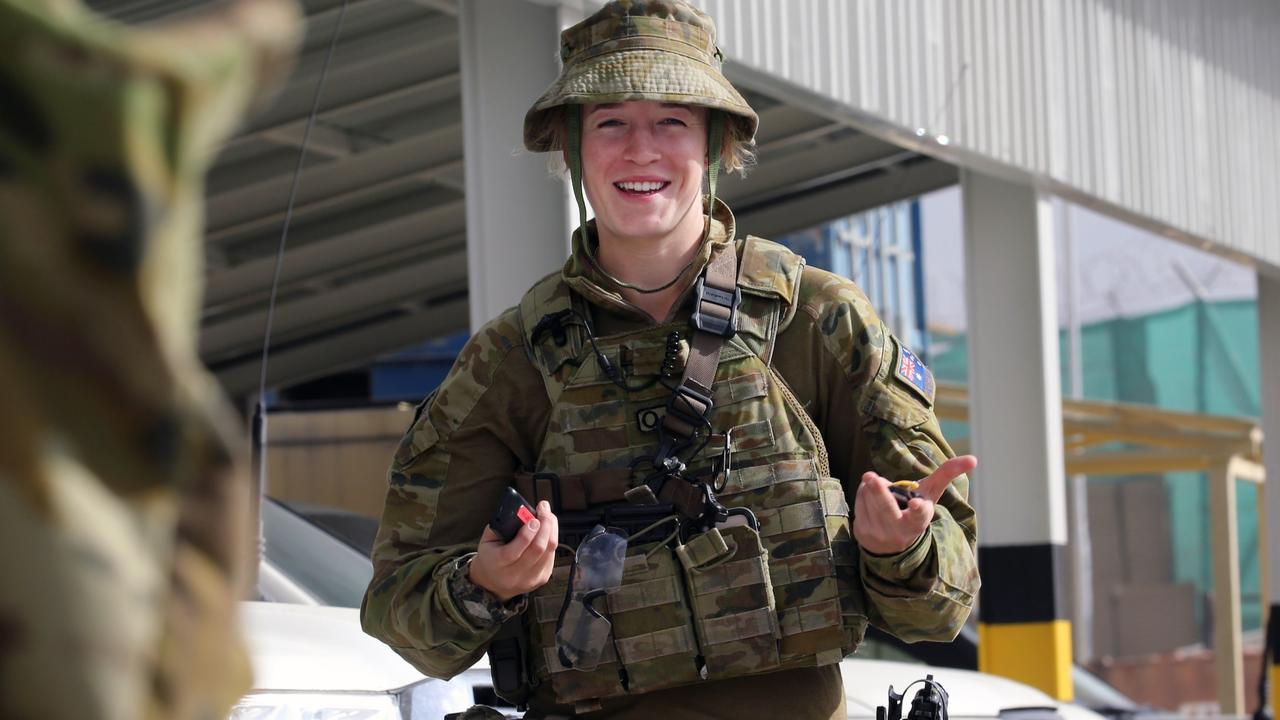 Private Chloe Hunt from Toowoomba. Picture: Gary Ramage