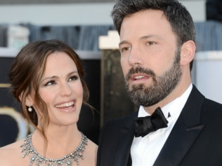 Jennifer with Ben Affleck in 2013 Image: Getty