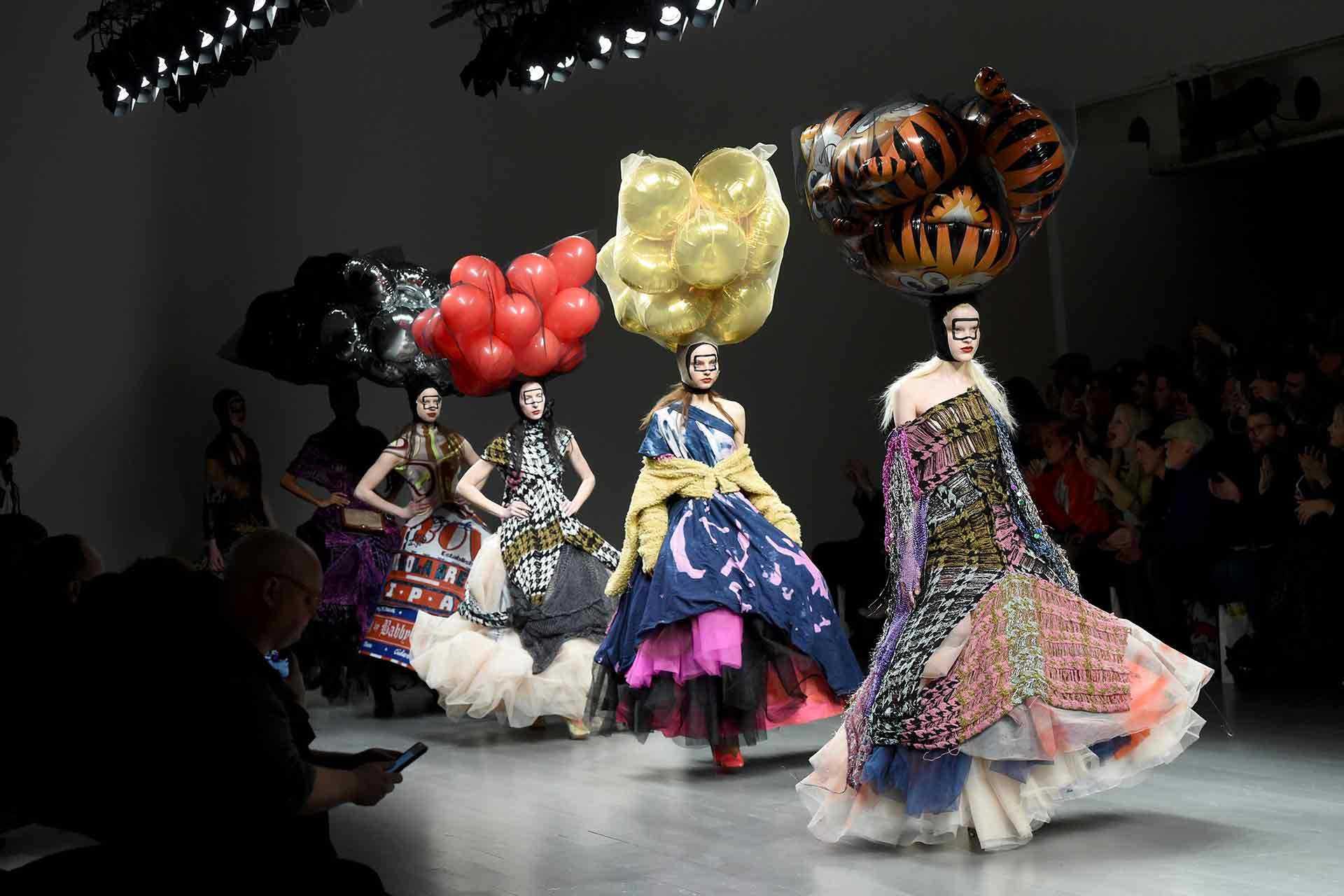 A brief history of London Fashion Week