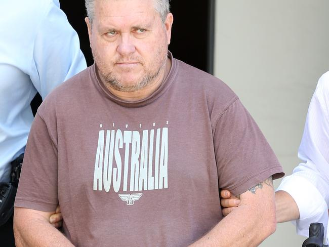 Foster father Rick Thorburn has been charged with murder. He is in an induced coma in a Brisbane hospital. Picture: Jack Tran