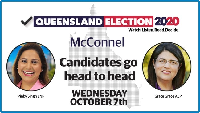 Replay - McConnel debate: Candidates go head-to-head ahead of 2020 QLD election