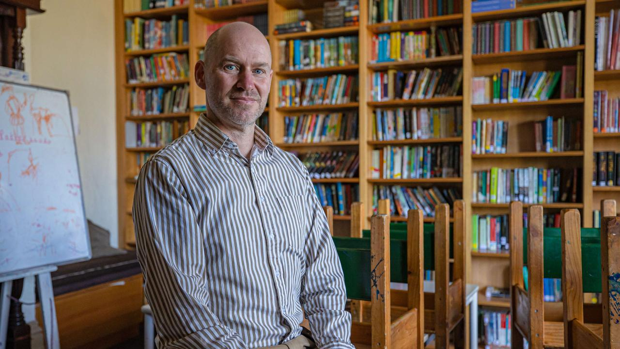 Fitzroy Community School Principal Tim Berryman has been branded 'irresponsible' by the Education Minister. Picture: Jason Edwards