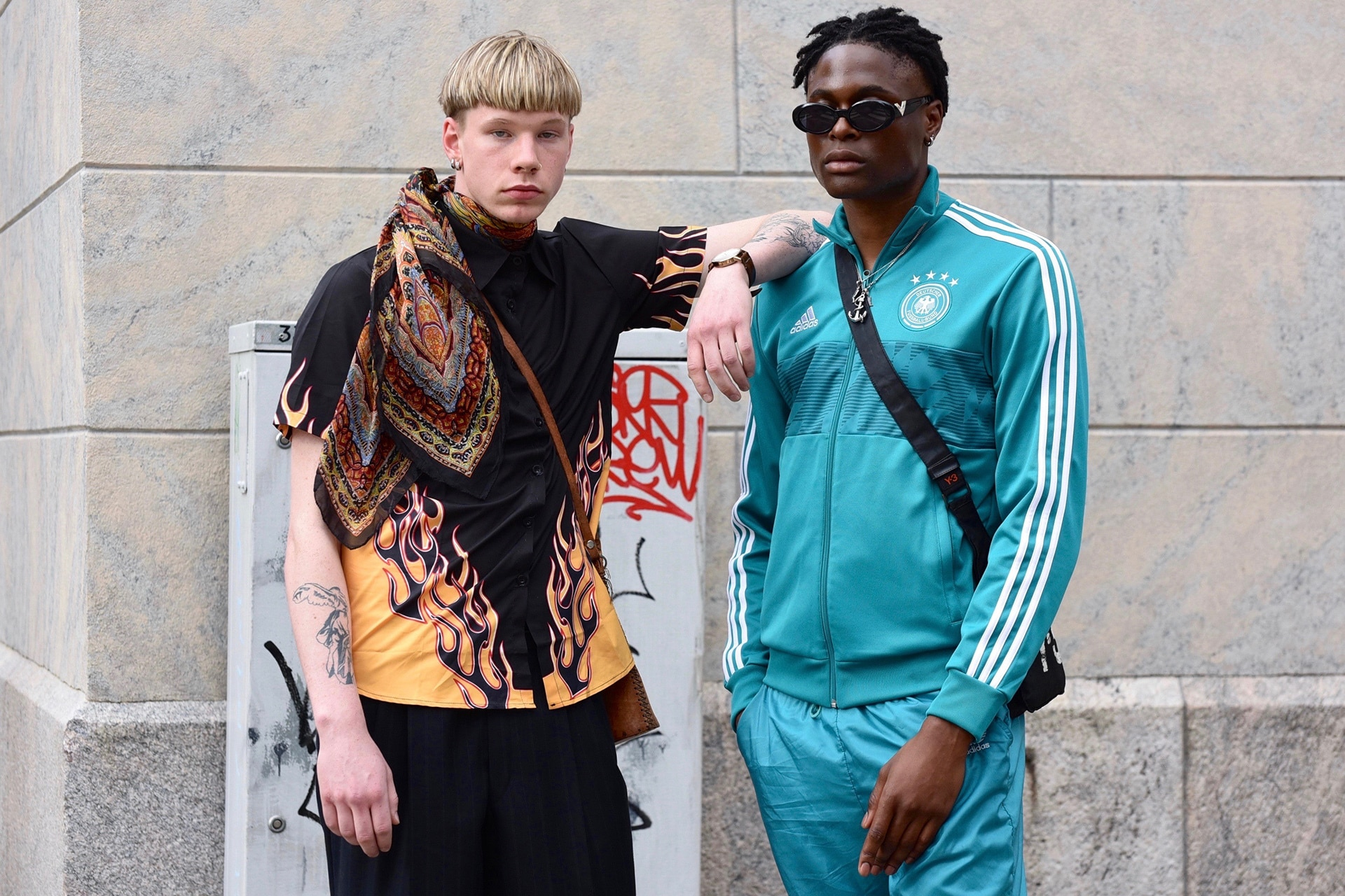 The Best Men's Street Style On Show At Helsinki Fashion Week Spring 2020