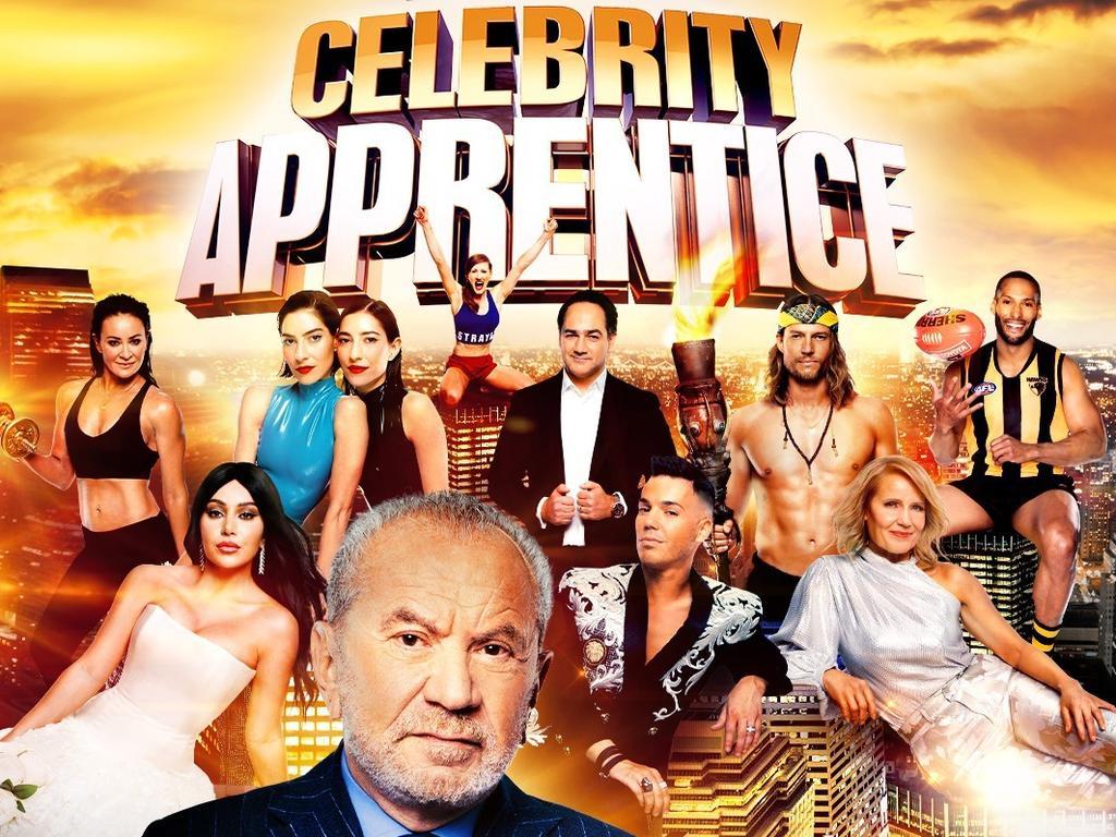 The cast of Celebrity Apprentice Australia.
