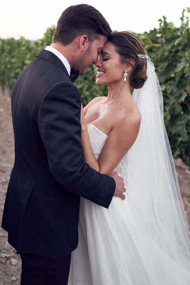 Inside an Australian model's romantic Spanish nuptials