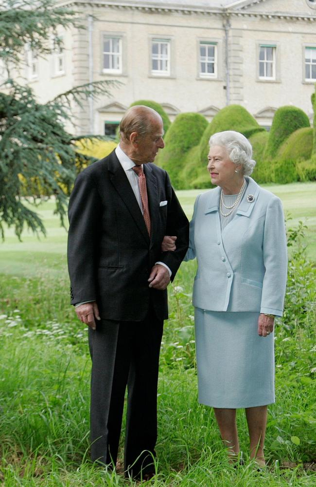 Prince Phillip has attended church without the Queen. Picture: Supplied
