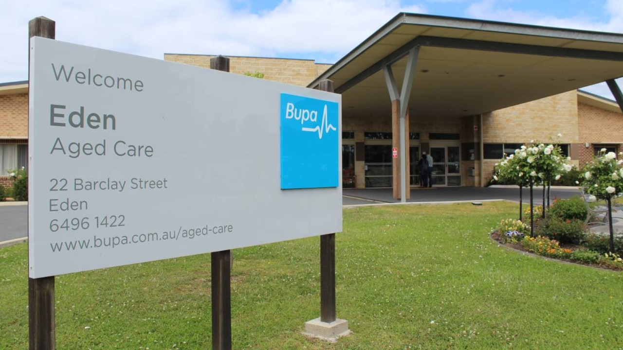Bupa's aged care facility at Eden in New South Wales.