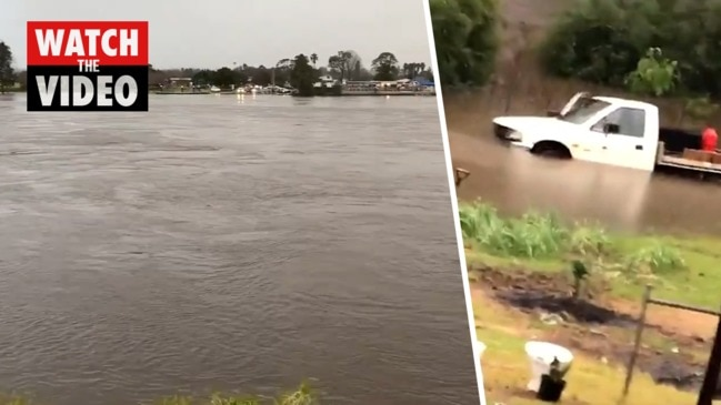 NSW south coast: Towns evacuated, flash flood warnings issued due to heavy rain