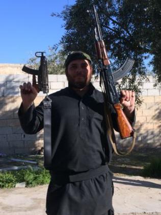 Islamic State fighter Khaled Sharrouf.