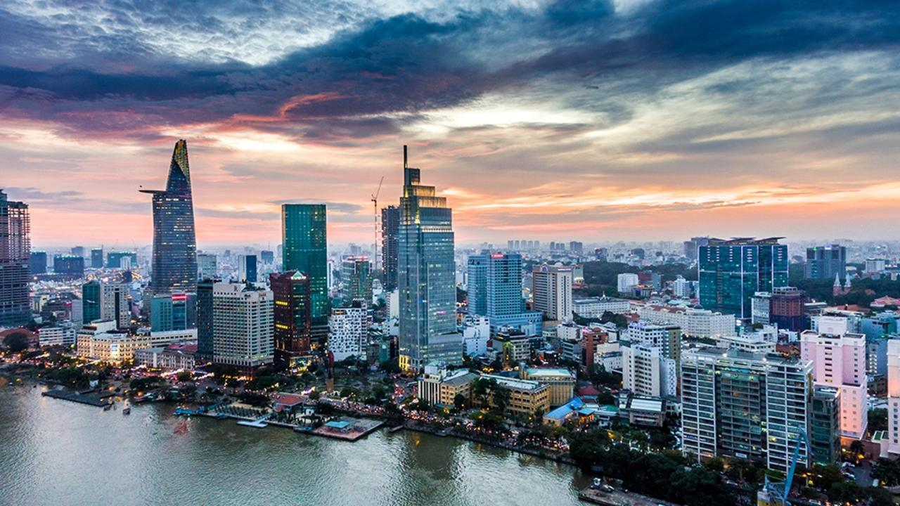 Explore Ho Chi Minh City in Vietnam.
