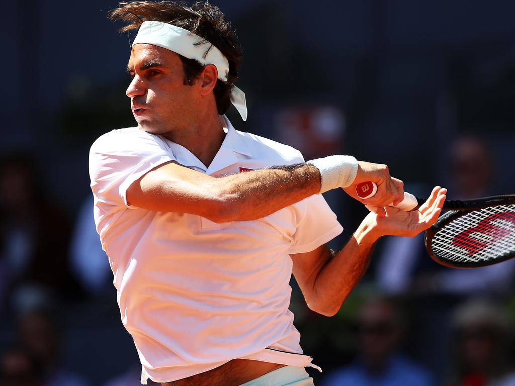 Federer was in fine form on his return to clay.