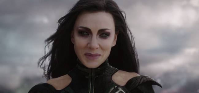 Cate Blanchett goes fierce for the new Thor movie.