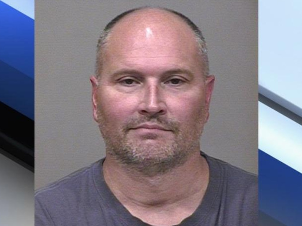 Chapman's mugshot was everywhere. Source: Scottsdale Police Department.