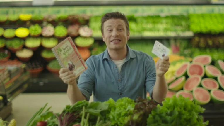 Jamie Oliver's new collectible cards
