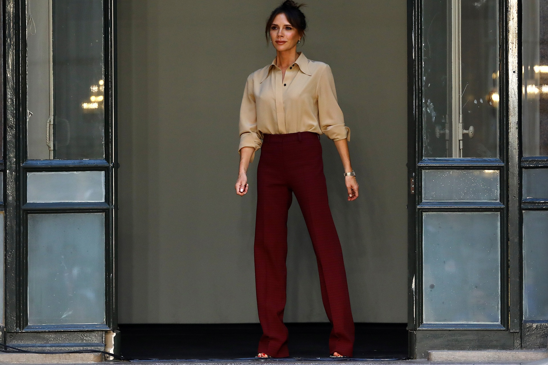 Victoria Beckham talks 'clean' beauty and the new sex appeal of 'big' dresses