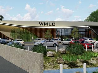 Wynnum Manly Leagues Club development artist impression