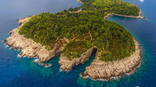12/37Lokrum Island - Dubrovnik - Croatia Take the ferry from Dubrovnik for a trip to this island. Don't dash off to its nudist beach just yet (it's a few minutes walk from the harbour)! It has its own 'Dead Sea' highly salinated lake, botanical gardens, ruins and the Fort Royal French garrison to explore. All in all, it's one of the top islands to visit near Dubrovnik.See also: What it's like to sail the Croatian islands