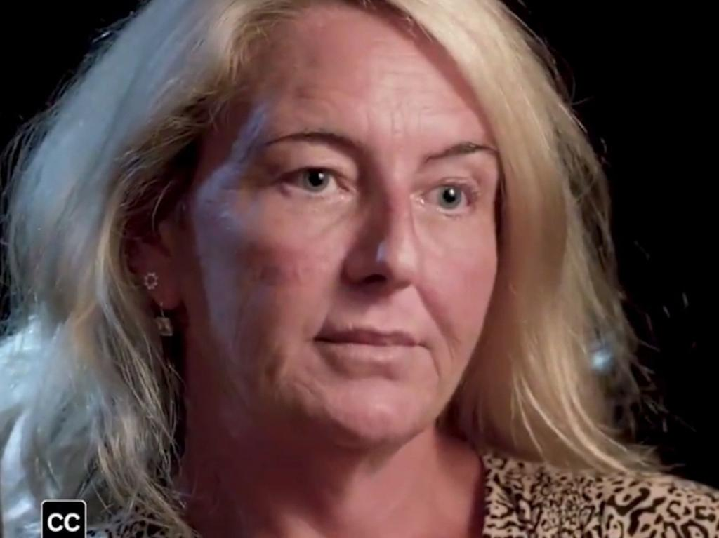 Nicola Gobbo as she appeared on the ABC's current affairs program 7.30.