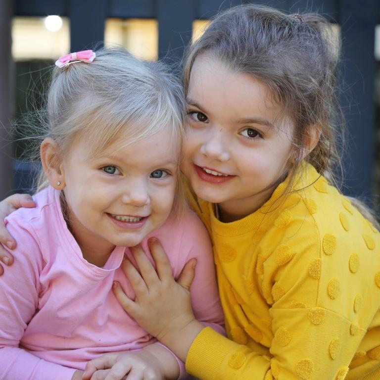 Frankie and Stella Gleeson's mother Kearma chose Everton Park Child Care and Development Centre due to it's 'excellent' rating.