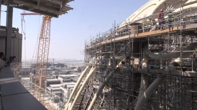 Dubai's vast Expo 2020 site rises from the desert
