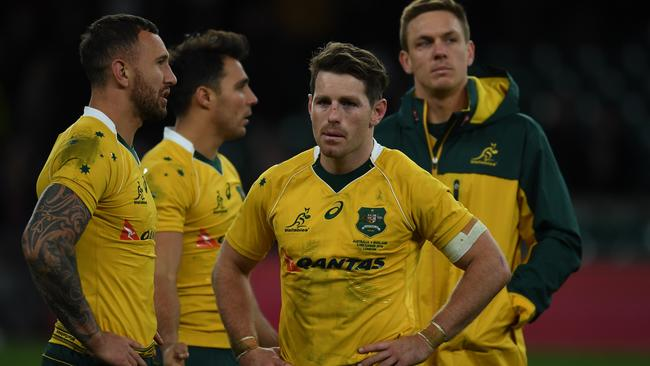 The Wallabies suffered another defeat, losing 37-21 to England for the fourth time in 2016.