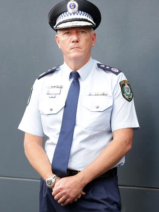 NSW police Commissioner Mick Fuller. Picture: Christian Gilles