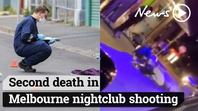 Second death in Melbourne nightclub shooting.