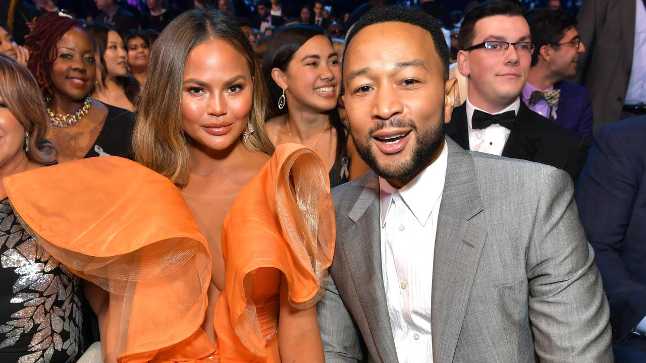 Chrissy Teigen and John Legend. Picture: Emma McIntyre/Getty Images for The Recording Academy