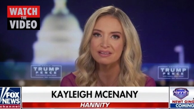 Kayleigh McEnany blasts Republican governor for resisting Trump's demands