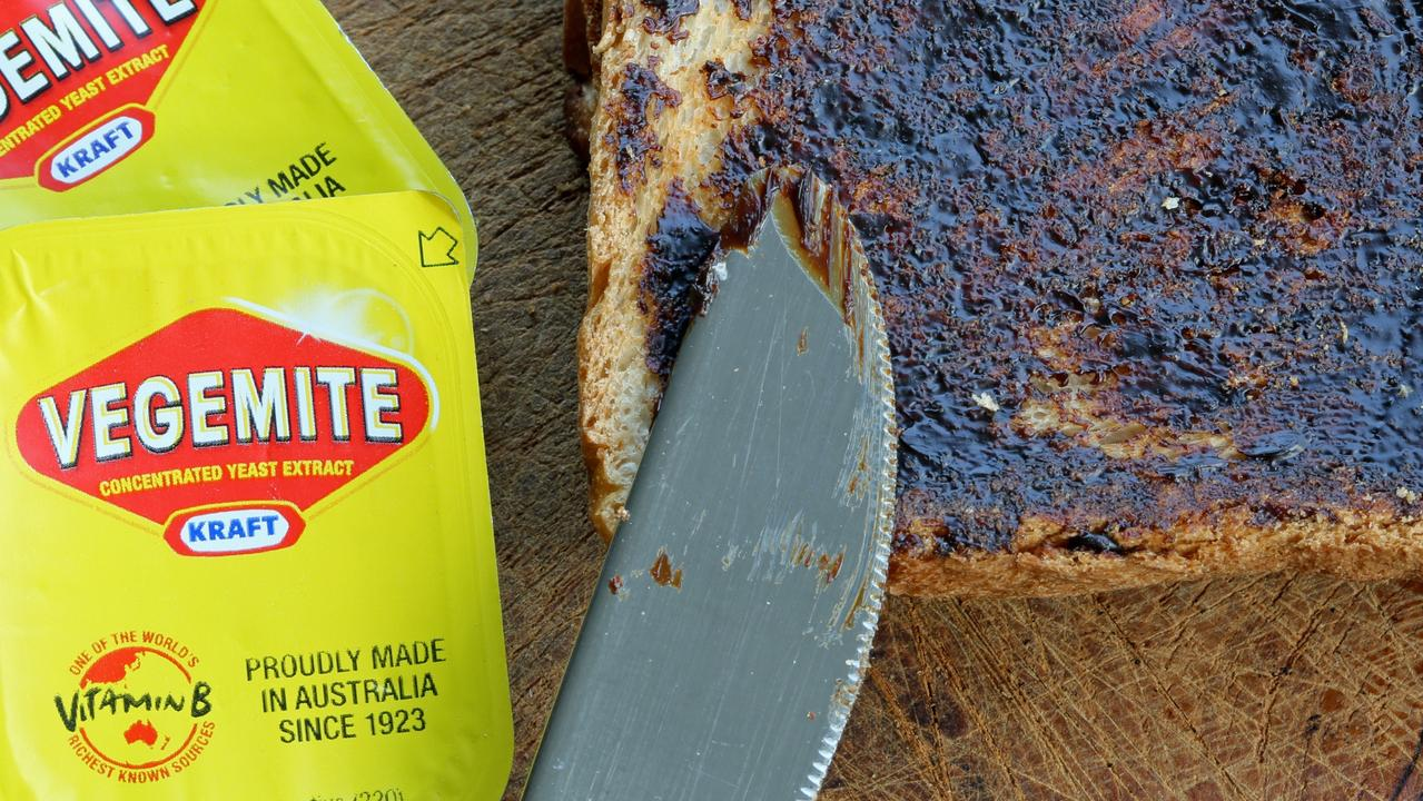 Vegemite on toast, a favourite way to eat this Aussie food. This photo is from 2013, before Bega Cheese bought Vegemite back. The label on your current jar of Vegemite looks a bit different. Picture: istock