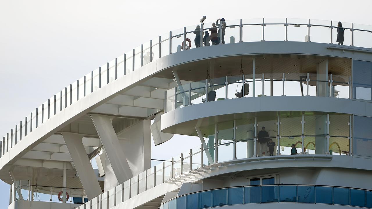 27 Australians are on board the ship. Picture: Filippo MONTEFORTE / AFP.