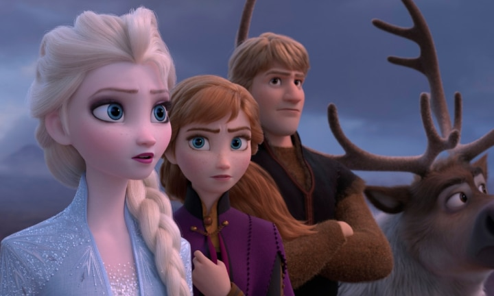 I watched 'Frozen 2' without the kids