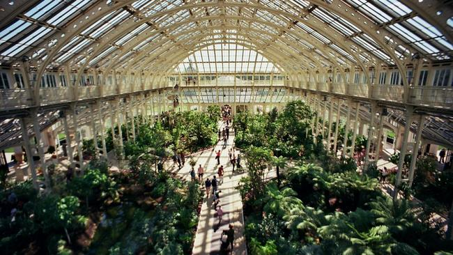 High angle view of the Temperate House at Kew Gardens in Richmond. Picture: Nick Page / Unsplash