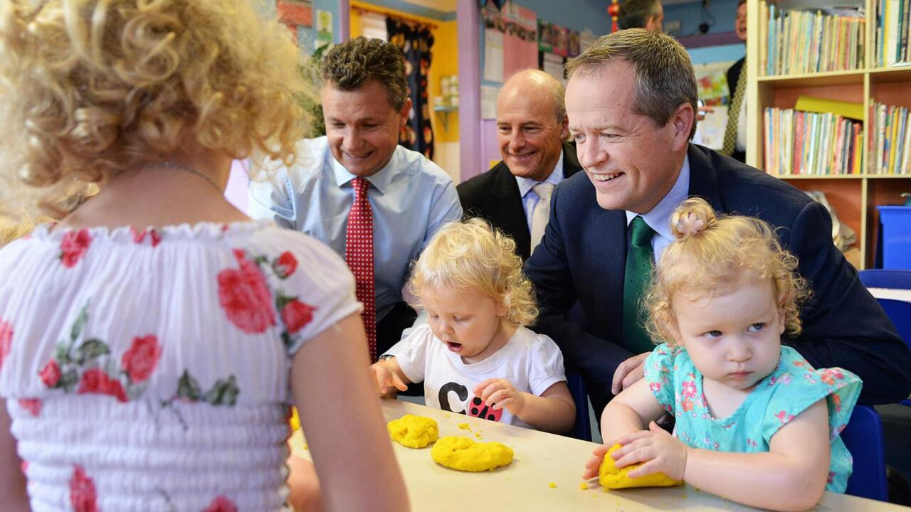 PM raises questions on Labor's childcare policy