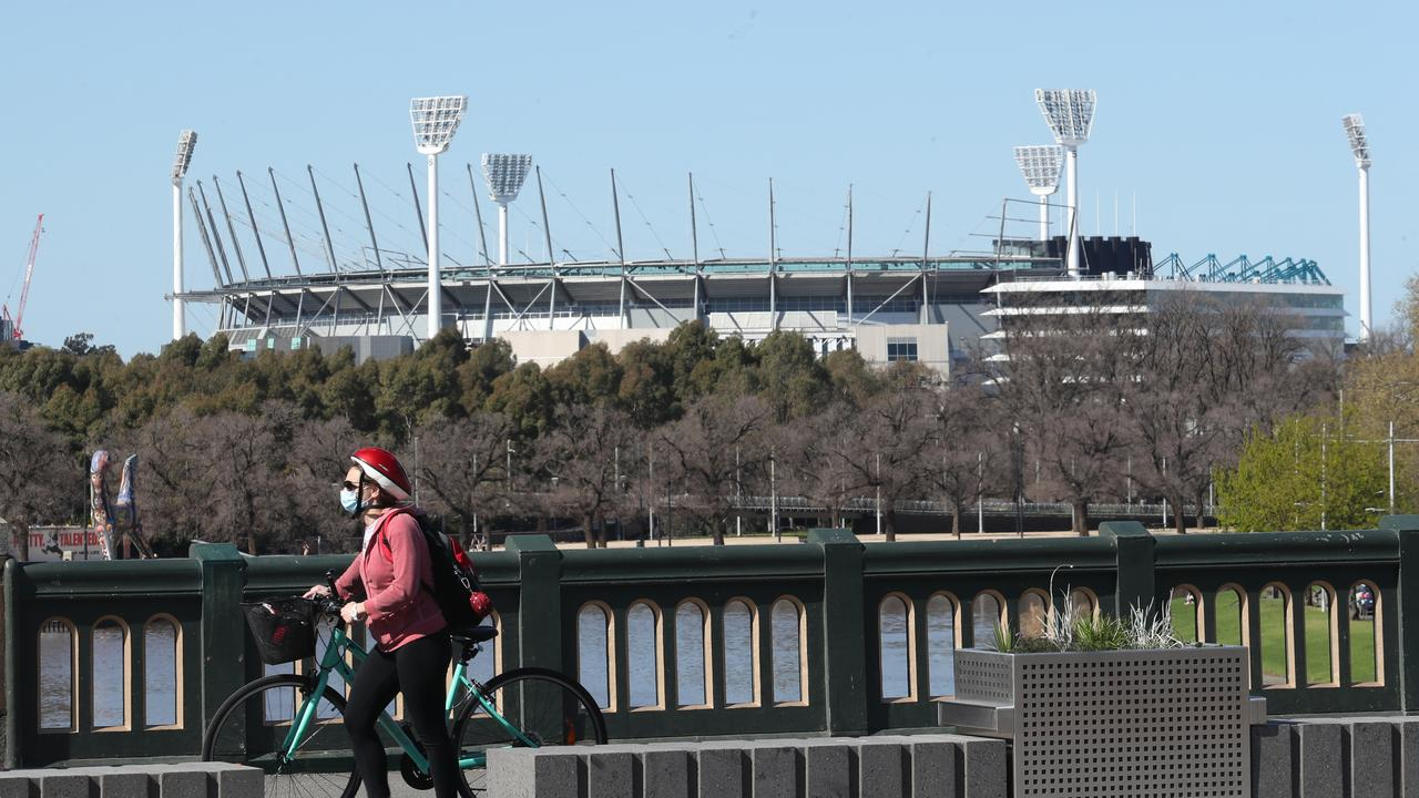 The MCG has been proposed as a mass vaccination site in the lead up to the Grand Final. Picture: NCA NewsWire / David Crosling