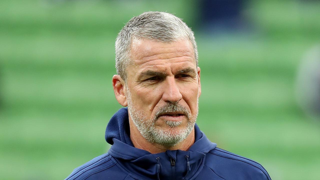 Marco Kurz was axed by Melbourne Victory on Tuesday night.