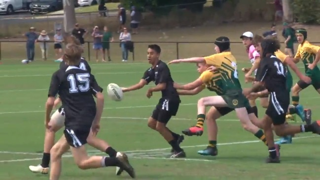 AIC Rugby League replay: Iona College v St Patrick's College, Year 9