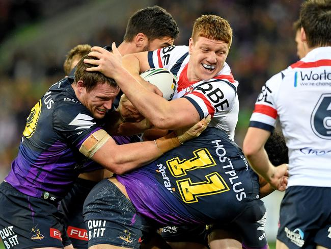 Dylan Napa was one of many Jason Taumalolo victims in 2017.