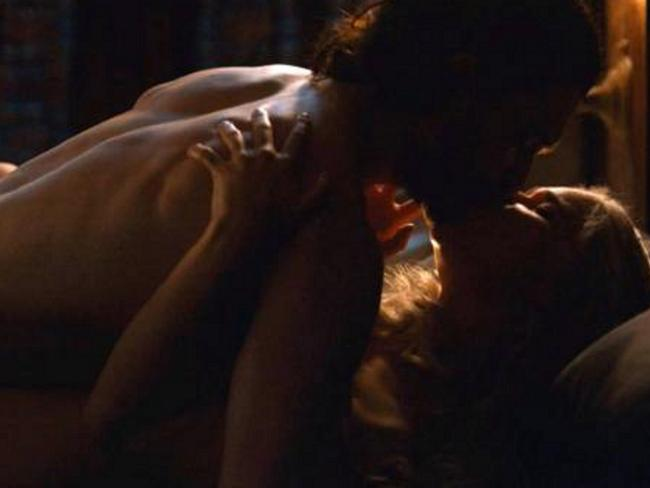 Dany and Jon finally got it on. Picture: Foxtel