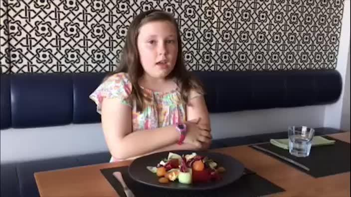Children turning into gourmet foodies