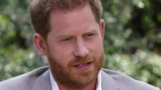 Supplied  PICS: Grabs from trailer of Oprah's Harry and Meghan interview.  Picture: CBS