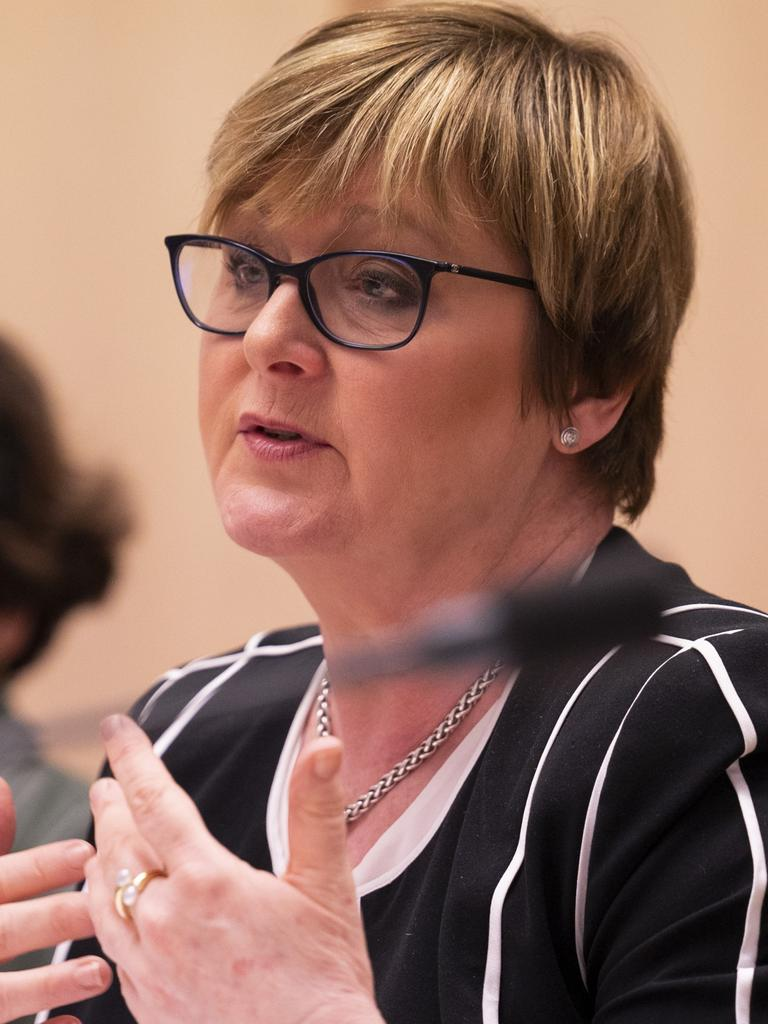Minister for Government Services, Linda Reynolds. Picture: NCA NewsWire / Martin Ollman