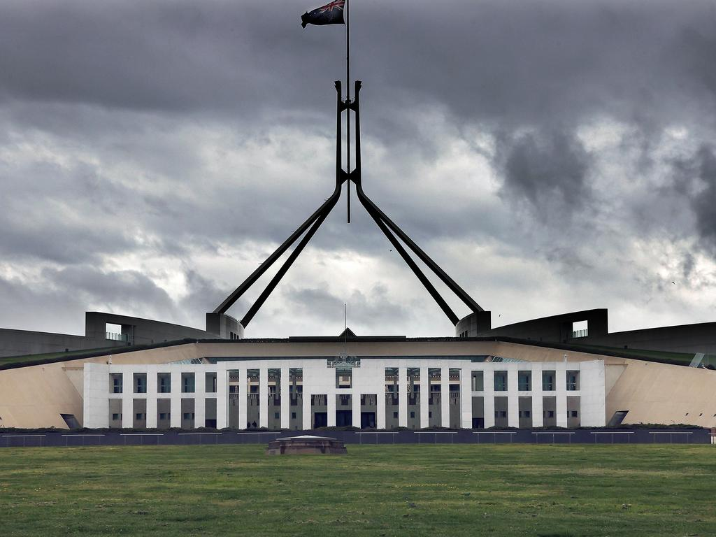 Fully vaccinated federal MPs, Senators and Parliament House staff can skip isolation if they come from Covid-infected areas under new ACT Health guidelines. Picture: Newswire/Gary Ramage