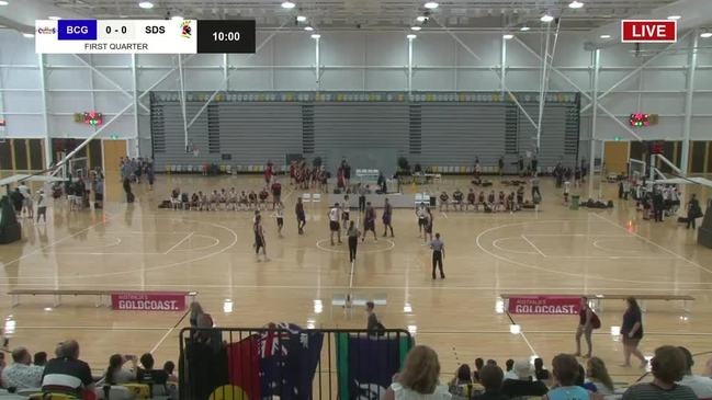 Replay: QLD U18 state basketball championships (BCG vs SDS)