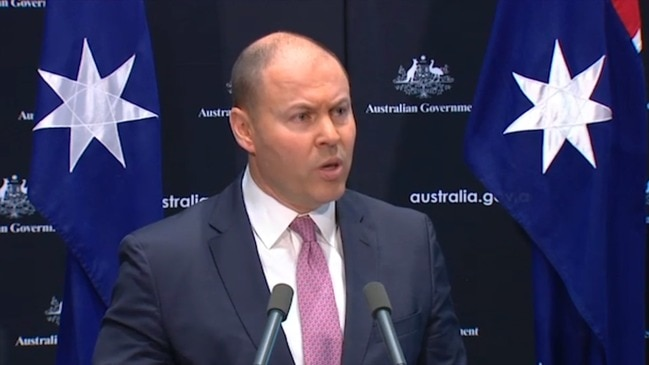 Frydenberg: 'Yes' we are in recession