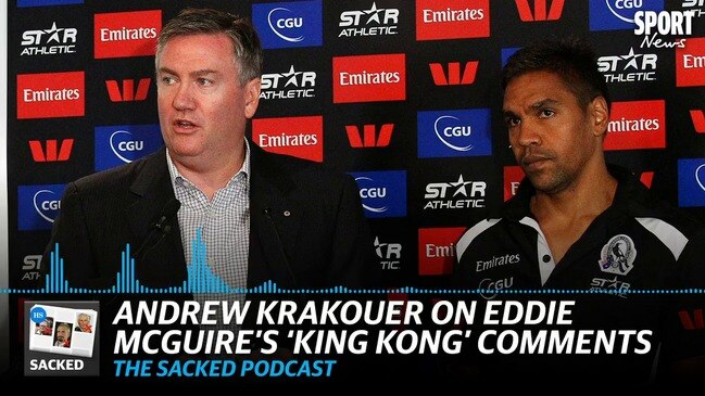 SACKED: Krakouer on playing after Eddie McGuire's 'King Kong' comments